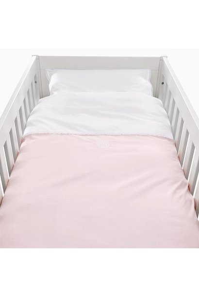 Quilt cover and pillowcase Royal Pink