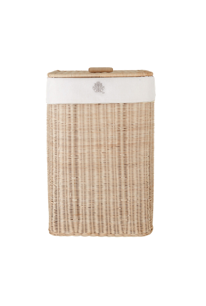 Natural wicker basket Sand Theophile & Patachou
