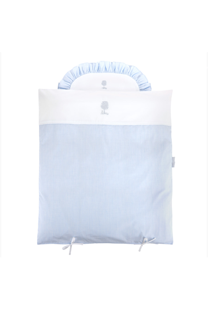 Quilt cover and pillowcase Sweet Blue Theophile & Patachou