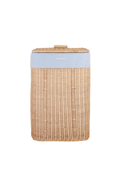 Natural wicker basket  Sweet Blue Theophile & Patachou