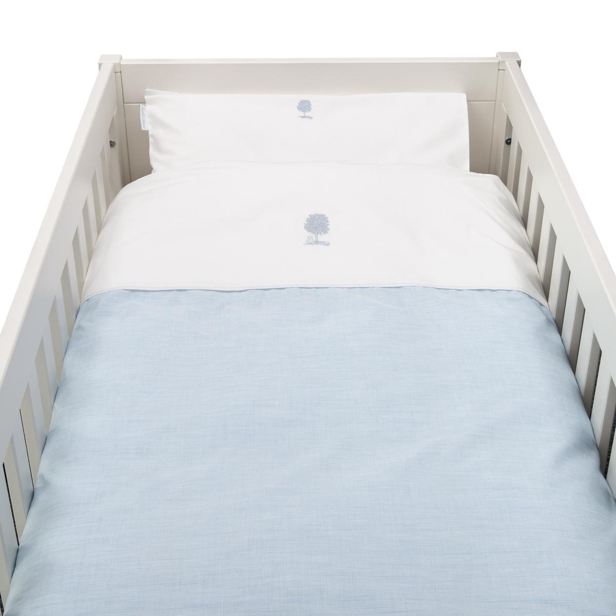 Donsovertrek bed met sloop Sweet Blue Theophile & Patachou-1