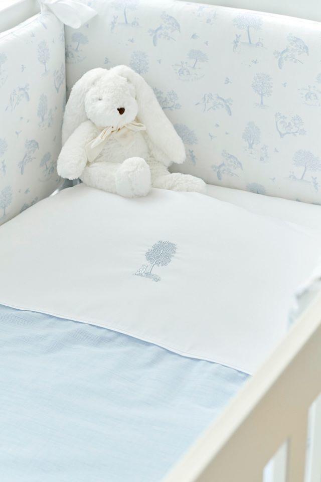 Donsovertrek bed met sloop Sweet Blue Theophile & Patachou-2