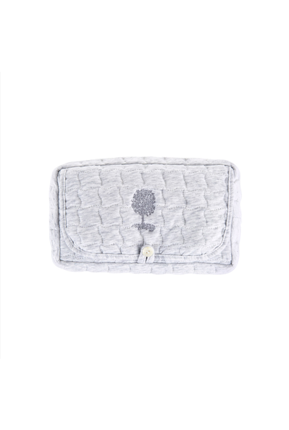 Wet wipes cover Soft Grey