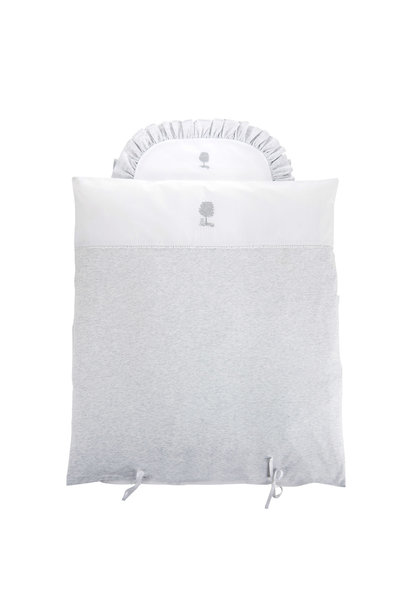 Quilt cover and pillowcase Soft Grey Theophile & Patachou