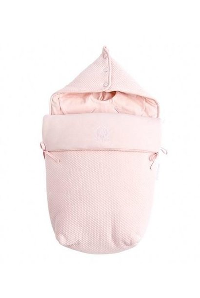 Footmuff pebble Royal Pink Theophile et Patachou