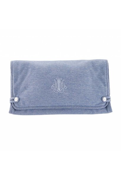 Travel changing mat Blue Jeans Theophile & Patachou