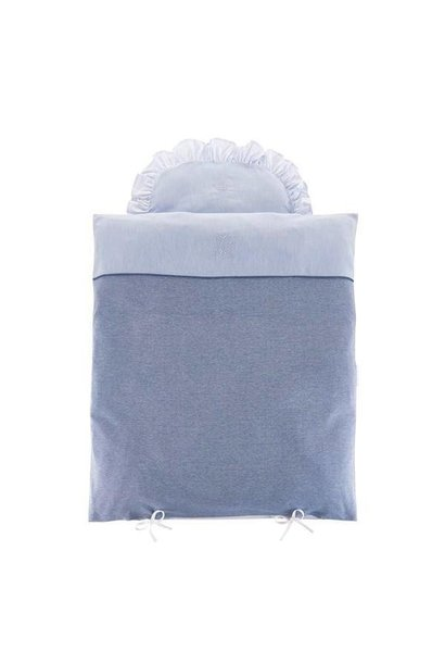 Quilt cover and pillowcase Blue Jeans Theophile & Patachou