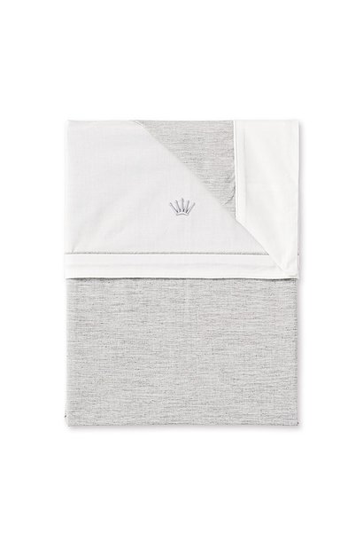 Quilt cover and pillowcase Moonlight grey