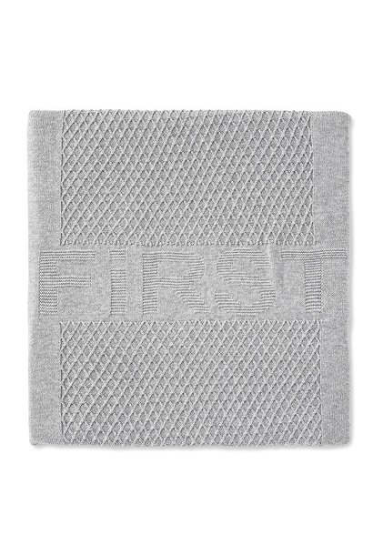 Decke gestrickt 100x140cm First