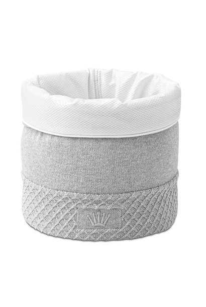 Storage basket Moonlight grey