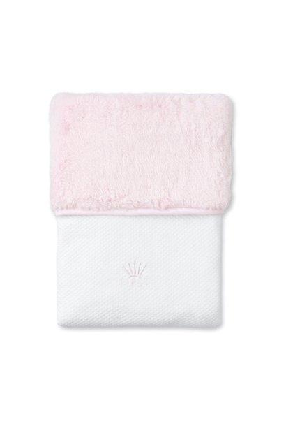 Deken 68x95cm Pretty pink