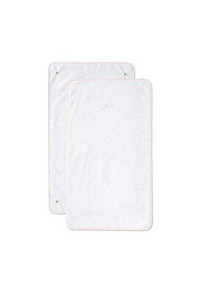 2 extra doekjes voor waskussenovertrek First