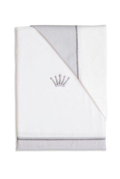 Daunendeckenbezug mit Kissenbezug Endless grey