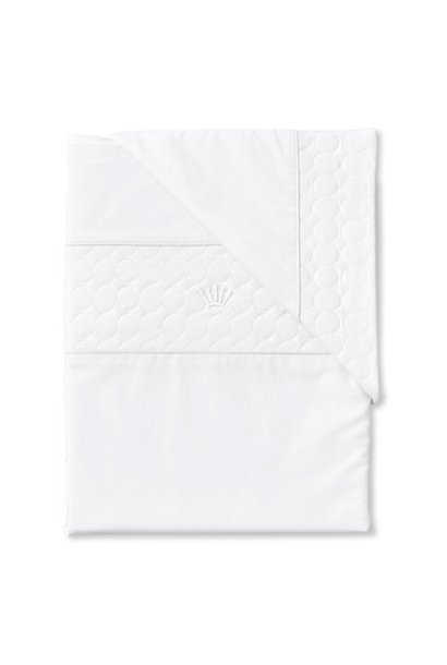 Quilt cover and pillowcase Crystal white