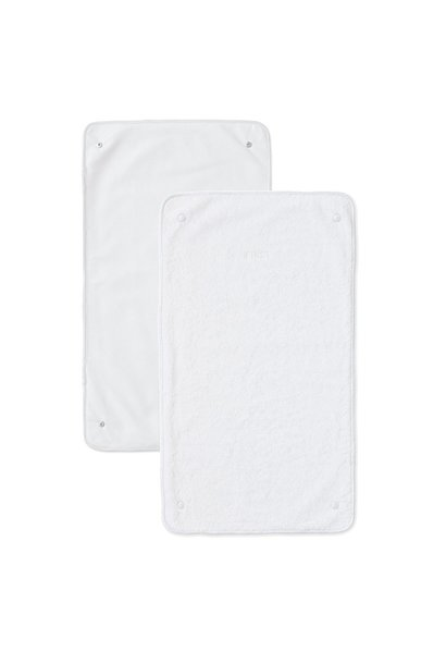 2 extra wipes for changing pad cover First