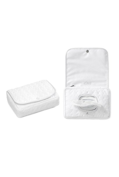 Wet wipes cover Crystal white