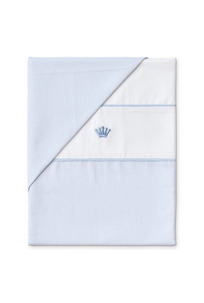 Quilt cover and pillowcase Forever blue