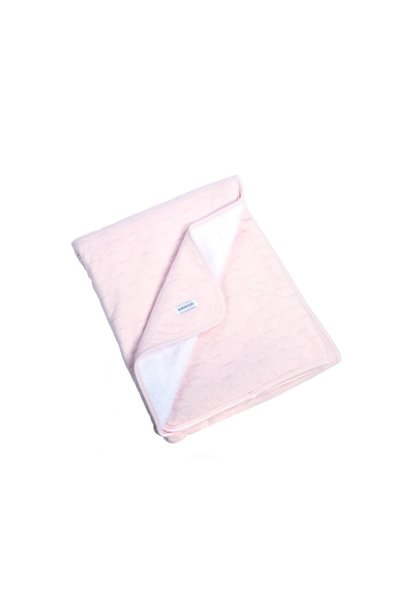 Blanket 100x135cm Poetree Star Soft Pink Collection