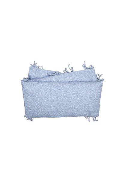 Bed surround Poetree Chevron Denim Blue Collection