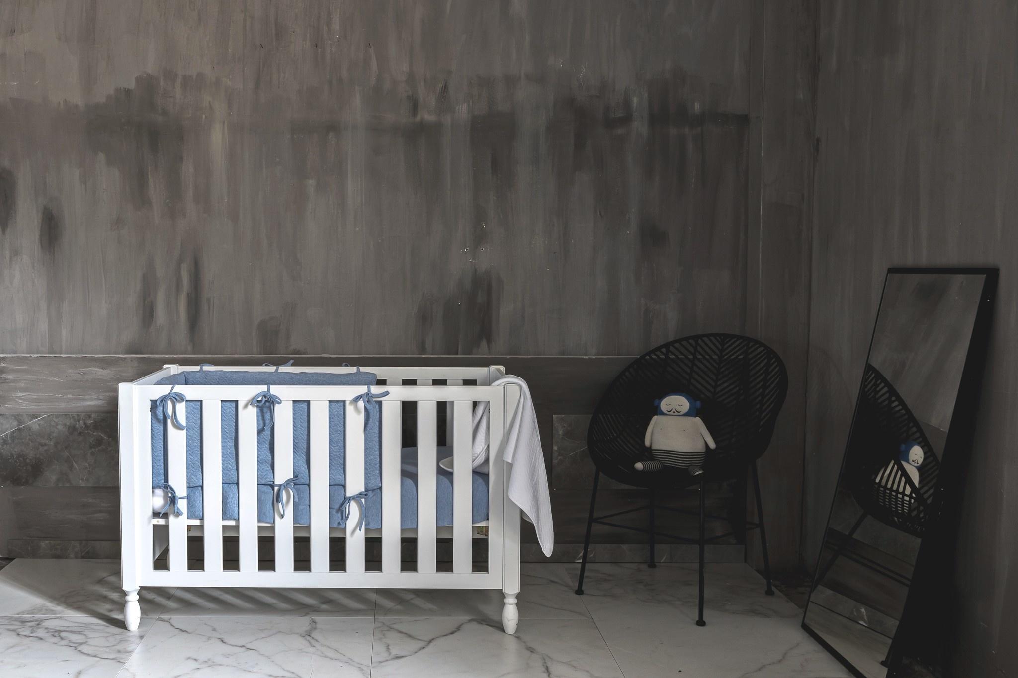 Bedomranding  Poetree Chevron Denim Blue Collection-2