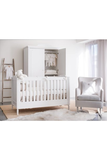 Bed 70x140cm+ Chest of drawers  + Closet Louis