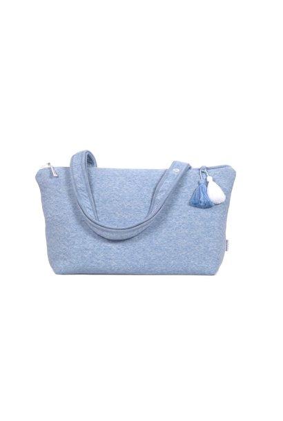 Kindertasche Poetree Chevron Denim Blue