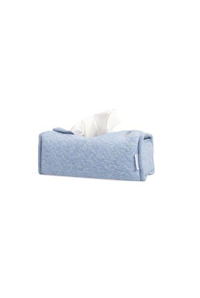 Cover Kleenex Poetree Chevron Denim Blue