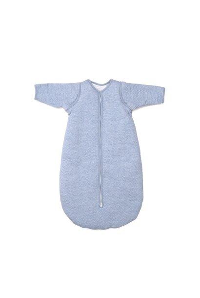 Schlafsack 90cm Poetree Chevron Denim Blue