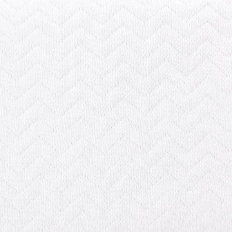 Donsovertrek wieg + sloop Poetree Chevron White Collection-2