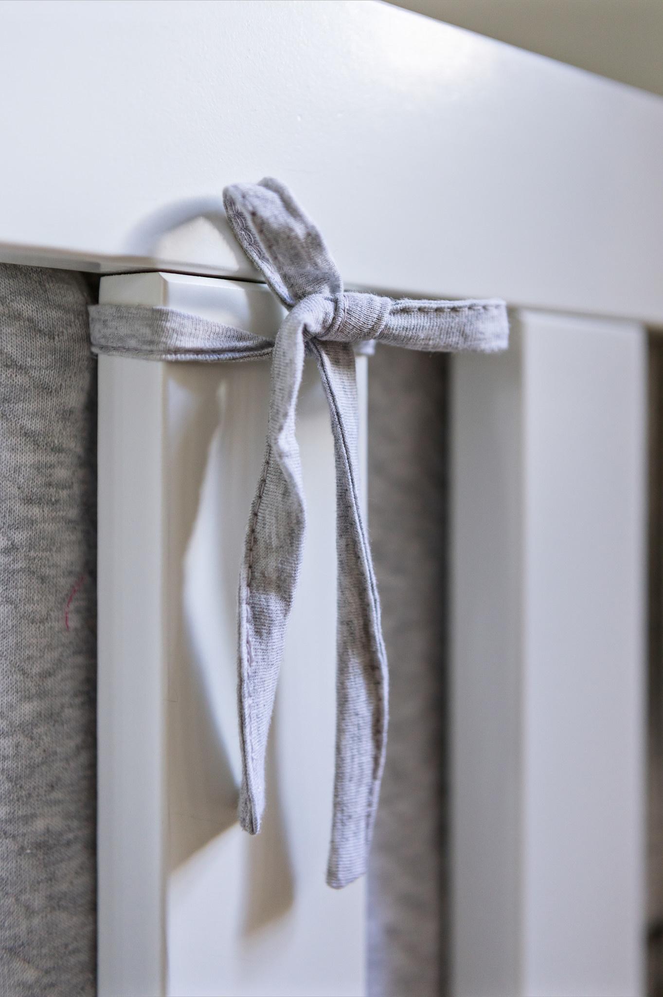 Bedomranding  Poetree Chevron Light Grey Melange-2
