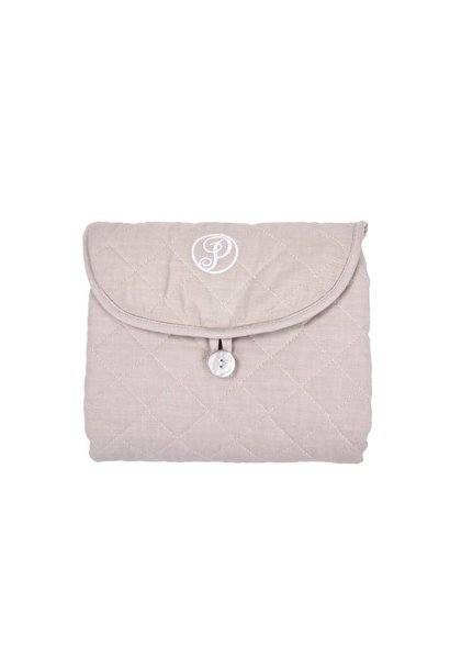 Travel changing mat Poetree Oxford Taupe Collection