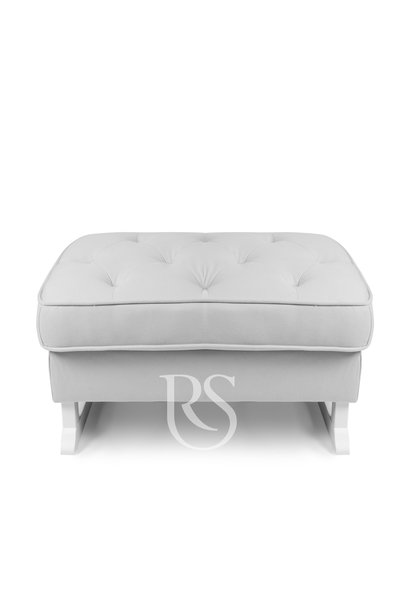 Royal footstool Rocking Seats gray / white