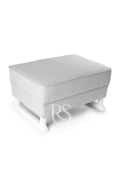 Bliss Footstool Rocking Seats Gray / White