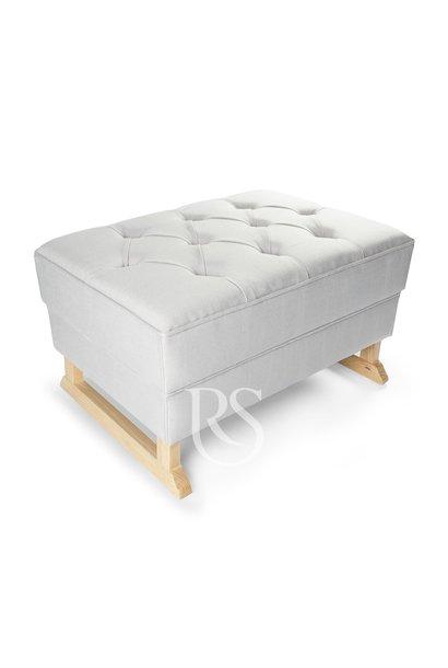 Royal Fußschemel Rocking Seats grau / natur