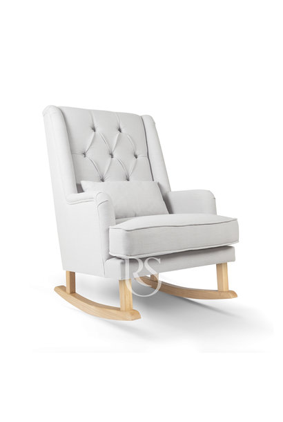 Schommelstoel Royal Rocker  Grey / Natuur