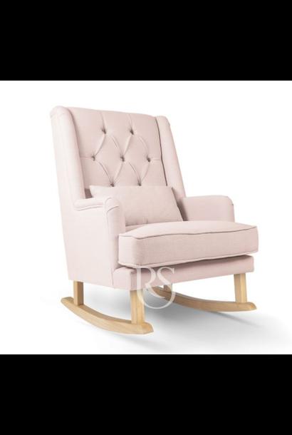 Schaukelstuhl Royal Rocker Pink / Natural
