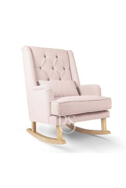 Schommelstoel Royal Rocker Roze / Natural