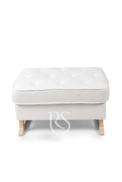Royal footstool Rocking Seats white / nature