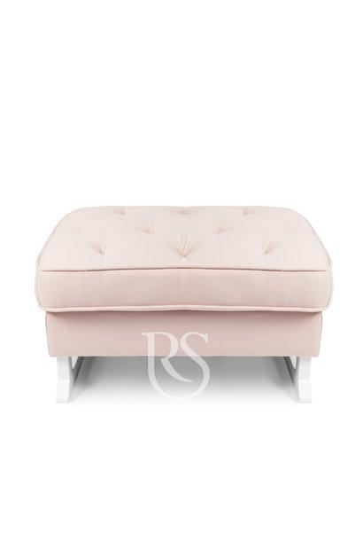 Royal Fußschemel Rocking Seats Pink / Weiß