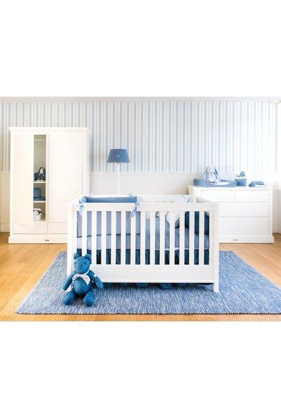 Bett 70x140cm  + Kommode + Wandschrank Design