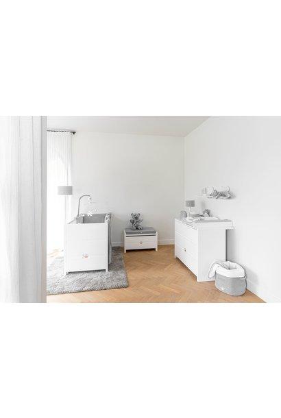 Bed 70x140cm  + Commode +  Closet June