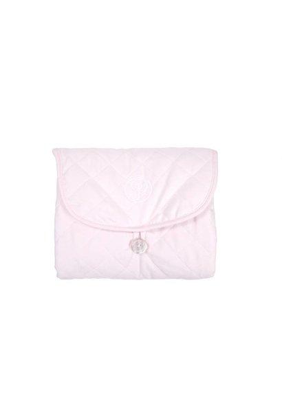 Reis waskussen Poetree Oxford Soft Pink