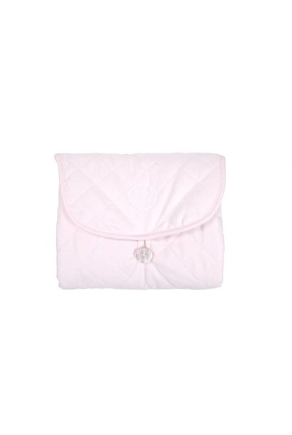 Travel changing mat Poetree Oxford Soft Pink