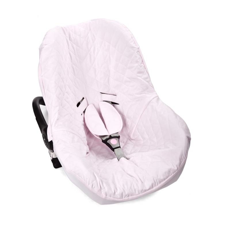 Hoes maxi cosi 3-punts gordel Poetree Oxford Soft Pink-1