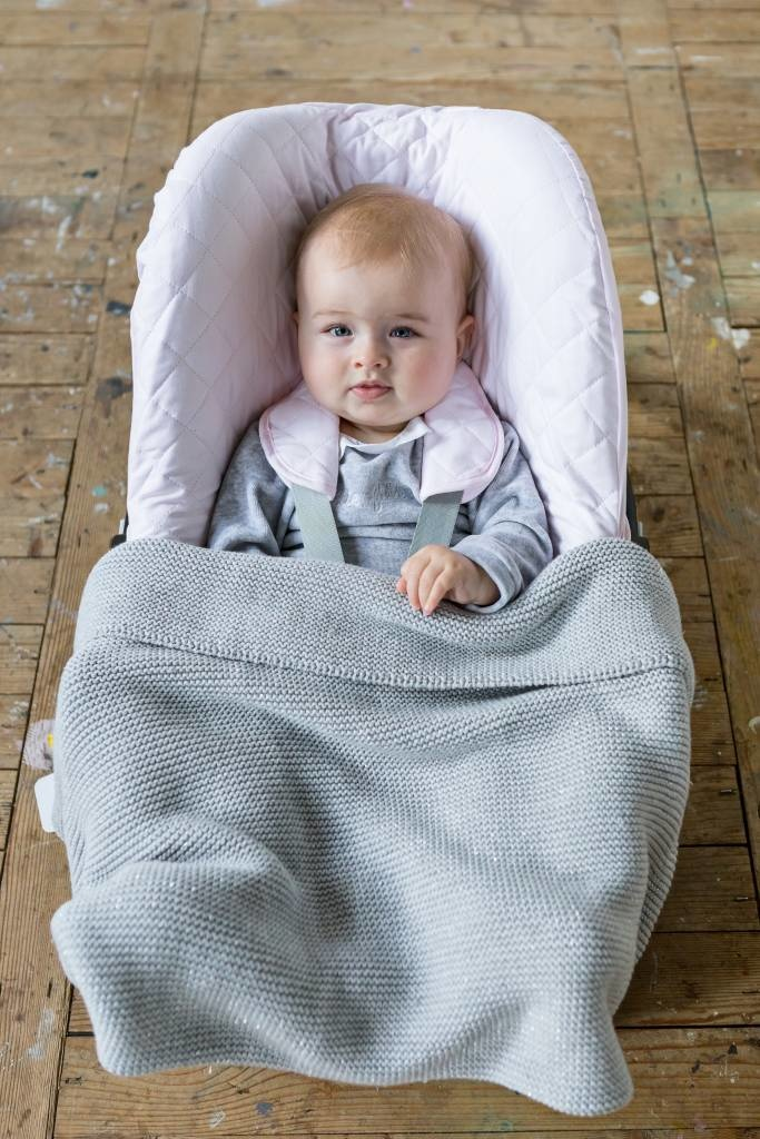 Hoes maxi cosi 3-punts gordel Poetree Oxford Soft Pink-2