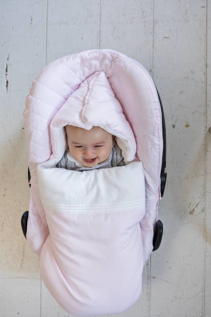 Hoes maxi cosi 3-punts gordel Poetree Oxford Soft Pink-3