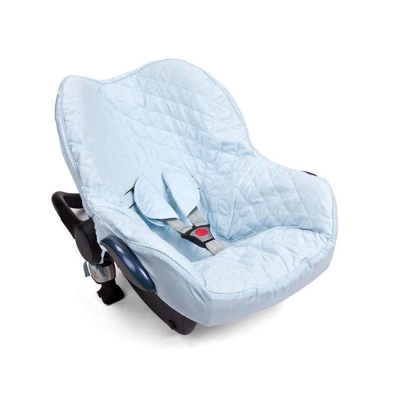 Hoes maxi cosi 3-punts gordel Poetree Oxford Blue Collection-1