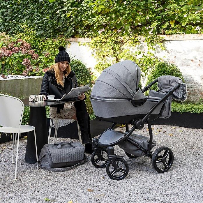Kinderwagen First Atlanta grijs-2