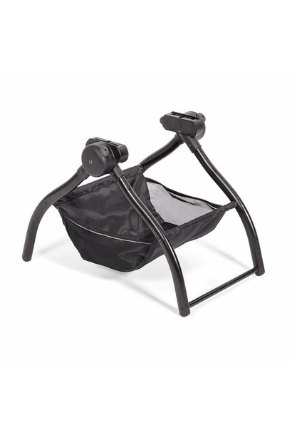 Foldable stand for carrying basket