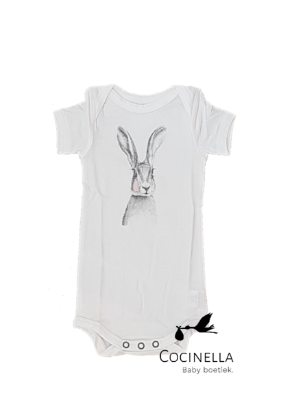 Romper Tencel rabbit 18M